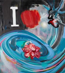 Water Hope, 2015, 100×90cm