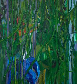 Jungle vibes, 2017, 110×100cm