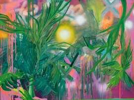 Tropical state of mind, Sunrise, 120x160cm
